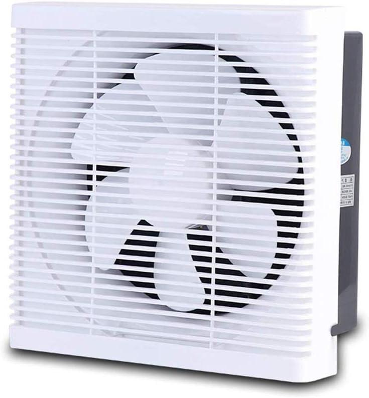 MHRCJ De Escape de ventilación del Ventilador del Ventilador de bajo Ruido de Cocina Persianas Plaza de ventilación de Escape del hogar Gas Fumadores: Amazon.es: Hogar