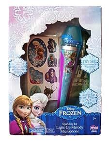 Amazon Com Frozen Sparkling Ice Light Up Melody