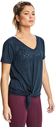 Rockwear Activewear Women's Mantra Long Line Tie Side Tee from Size 4-18 for T-Shirt Tops