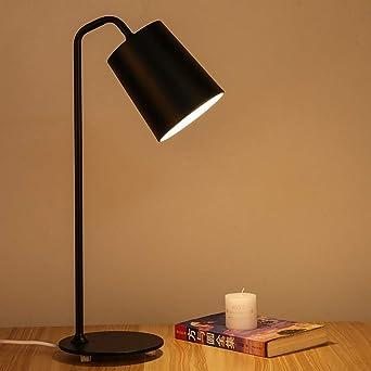 Lámpara de mesa lámpara de mesita de noche dormitorio lámpara de ...