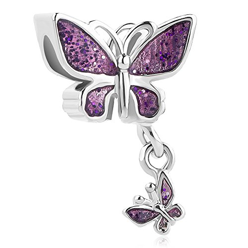 Butterfly Charm Bead - 4