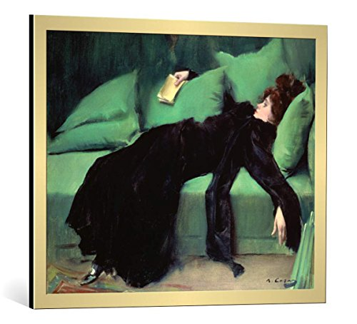 Framed Art Print: Ramon Casas y Carbo
