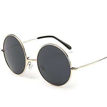 Mifusanahorn Gafas de Sol mentales Redondas para Hombres, Mujeres, Ciclismo, Carreras, conducción, Pesca, Golf, Redondos, Gafas de Sol de Estilo ...