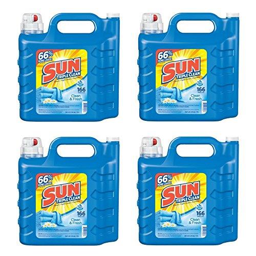 Sun Ultra Liquid Laundry Detergent, Clean &