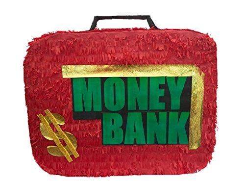 Money Bank Briefcase Pinata by APINATA4U