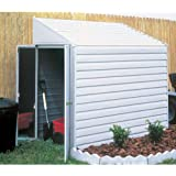 Arrow Yardsaver Slope Roof Shed Heavy Duty Galvanized Steel Storage Shed, 4 ft x 7 ft
