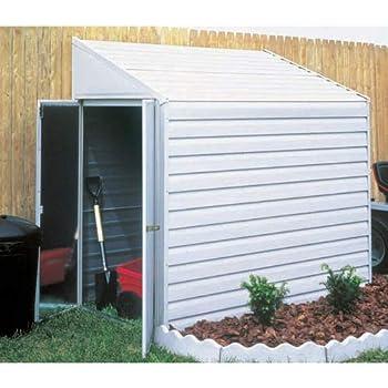 Amazon Com Arrow Yardsaver Slope Roof Shed Heavy Duty