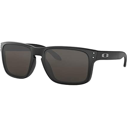f19cdcdd75f7 Amazon.com: Oakley Men's Holbrook Sunglasses,Matte Black: Sports & Outdoors