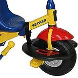 Kettler Lil-Foote Kettrest, Child Pedal Bike Foot Rest Compatible with Kettler Freewheel Trikes, Black
