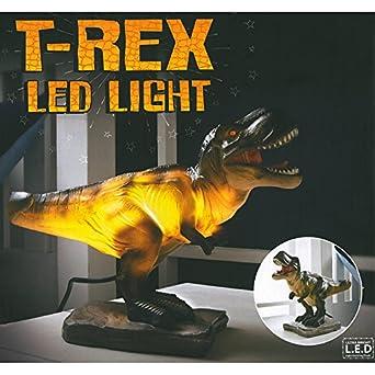 Dinosaur T-Rex Night Light Table Lamp: Amazon.co.uk: Lighting