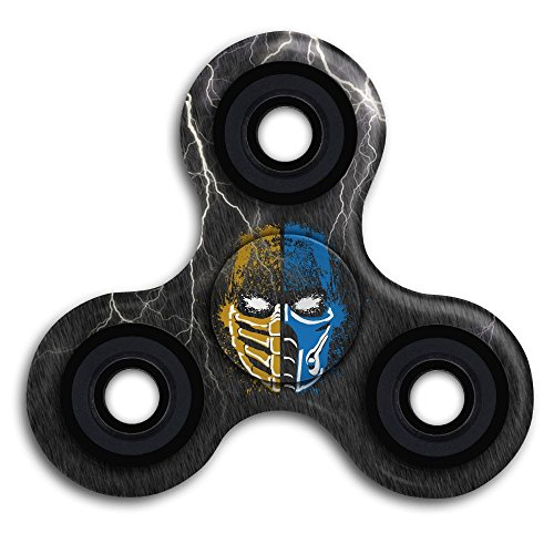 Mortal Kombat Suits (YiYa Scorpion Vs Sub-Zero Mortal Kombat 1 Stress Relief Hand Spinner Spinning Fidget Toy Stress Reducer Toy Ultra Fast Bearings Finger Toy Great Gift For ADD,ADHD Boring,Anxiety,Focusing)