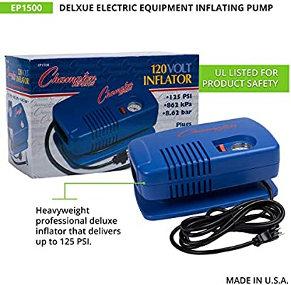 Champion Sports Deluxe Equipment Inflating Pump EP1500 Inflating Pump NEW