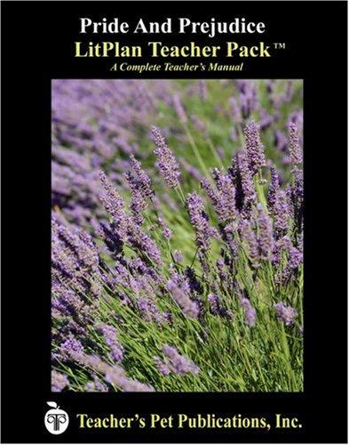Amazon.com: Pride and Prejudice LitPlan - A Novel Unit Teacher ...