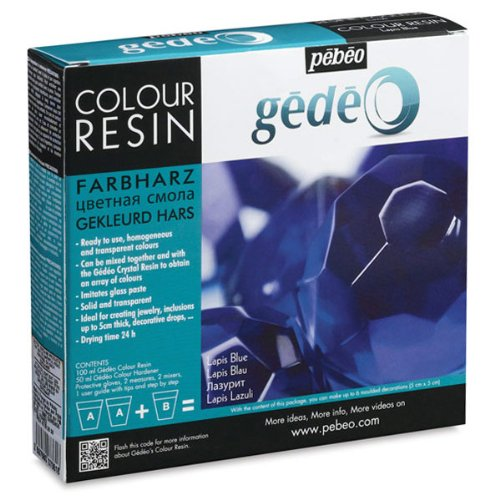 Pebeo Gedeo, Color Resin, 150 ml - Lapis Blue -