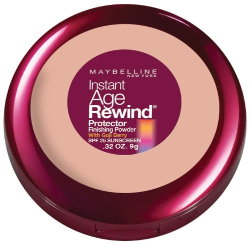 Maybelline New York instantanée Age Rewind Protector Finishing Powder, Classic Beige, 0,32 once