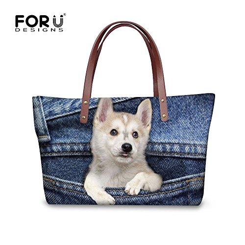 Women W8ccc1767al Bags Satchel Handbags FancyPrint Top Handle Shopping Shoulder E8RwqtT