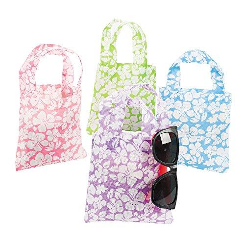 Mini Hibiscus Tote Bags -