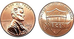2017 - P Cent Bankroll - Union Shied Design One P-Mint Bank-wrapped bankroll of 2017 Union Shield Lincoln Cents From the Philadelphia Mint. First time in 225 Years that the Mint is adding the P Mint Mark to the Cent Coin! One unsearched 50-coin Bankr...