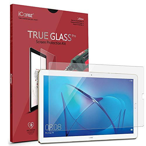 iCarez [Tempered Glass] Screen Protector for Huawei MediaPad M5/M5 Pro 10.8-inch Premium Easy Install [9H 0.3MM 2.5D] with Lifetime Replacement Warranty by iCarez (Image #2)