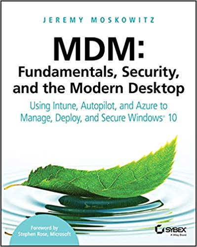 Amazon com: MDM: Fundamentals, Security, and the Modern