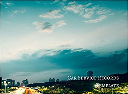 car service records template vehicle maintenance log journals for