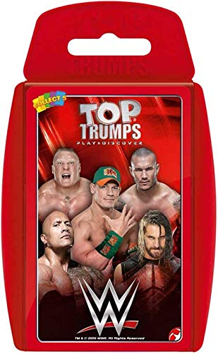 TOP TRUMPS - WWE! Perfect for indoors, travelling, camping and holidays by Top Trumps