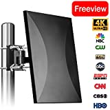 Best NEW Outdoor TV Antennas - Amplified Digital TV Antenna 120-160 Mile Range, 2018 Review
