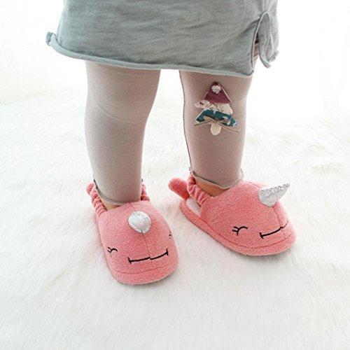 Aussehen Soft Erwärmung Tier Haushalt Design Rosa Kleinkind Schuhe Slipper Design IGEMY Cartoon Kinder Baby Boy qE0FSwT