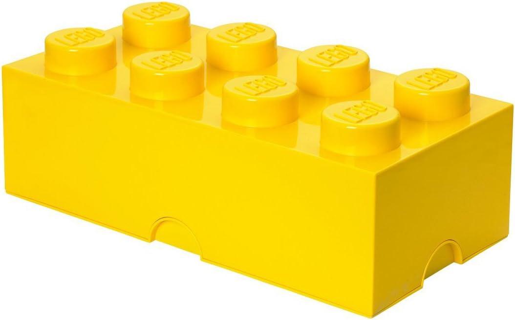 LEGO Storage Brick 8, 19-3/4 x 10 x 7-1/8 Inches, Bright Yellow