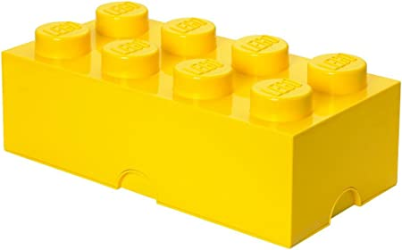 LEGO - Caja de almacenamiento apilable, 8 pomos: Room Copenhagen: Amazon.es: Juguetes y juegos