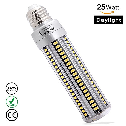 25W-LED-Light-Bulbs-E26-2500Lm-6500K-Daylight-White-Led-Corn-Light-Bulbs-Replacement-250-Watt-Incandescent-Bulb-for-Indoor-Outdoor-Street-Lamp-Basement-Garage-Factory-Warehouse-High-Bay-Barn-Backy