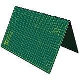 Cutting Mat, Self Healing Cutting Mat, Hobby Cutting Mat, Sewing Cutting Mat, Foldable Cutting Mat Imperial 23 x 17 inch A2 - Green