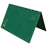 Cutting Mat, Self Healing Cutting Mat, Hobby Cutting Mat, Sewing Cutting Mat, Foldable Cutting Mat Imperial 23 x 17 inch A2 - Green