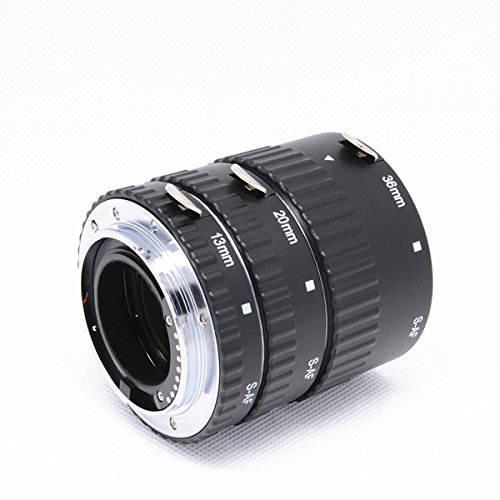 Mcoplus EXT-SM Auto Focus Macro Extension Tube Set with Metal Bayonet for Sony A Mount Alpha Digital SLR Camera Lens A350, A700, A900, A500, A550, A450, A290, A390, A560, A580,A77,