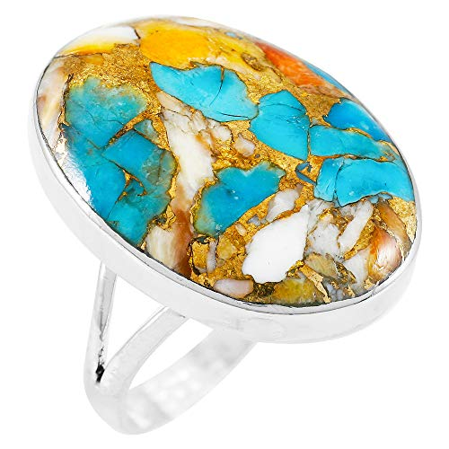 Turquoise Ring Sterling Silver Pick Color