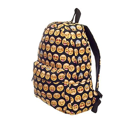 Cevinee-Multi-room-lovely-Emoji-Daily-backpack-Cute-Smile-Face-Kids-Schoolbag