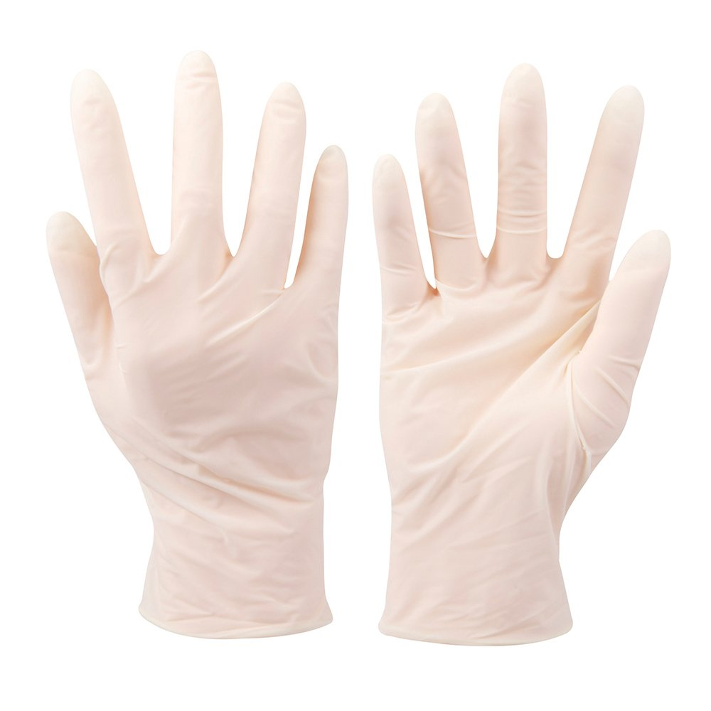 Pack of 100 Large Silverline 980918 Latex Gloves
