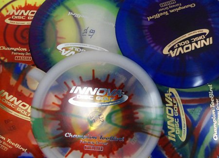 Innova Champion I-dyed Teebird Disc Golf Disc - Set of 2 by Innova