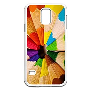 Samsung Galaxy S5 Cases Pencil Design Hard Back Cover Shell Desgined By RRG2G