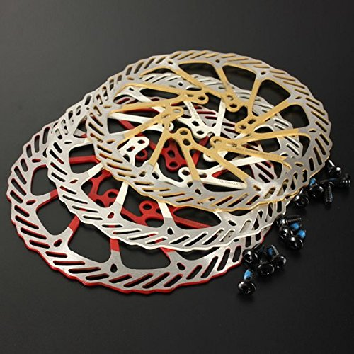 160mm Bicycle MTB Stainless Steel Brake Disc For Avid G3 ( Gold )