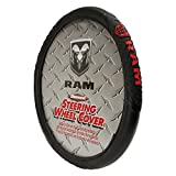 Dodge Diamond Plate Grip Style Steering Wheel Cover