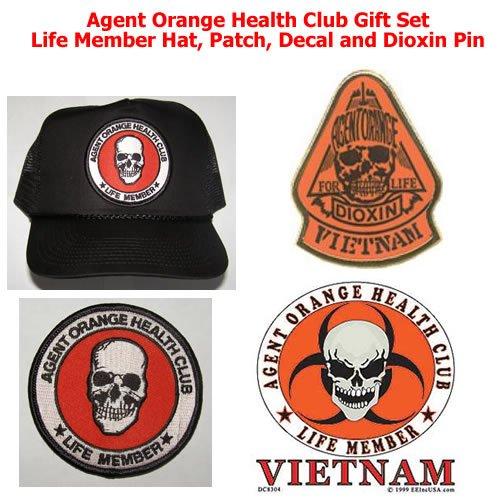Agent Orange Health Club Gift Set For Vietnam Veterans - Veteran Owned Business