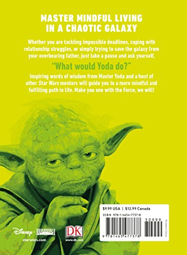 Star Wars: Be More Yoda: Mindful Thinking from a Galaxy Far Far Away - coolthings.us