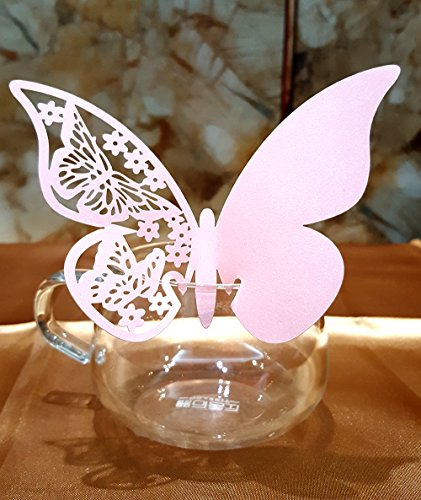 Butterfly Wedding Number Decoration Sticker