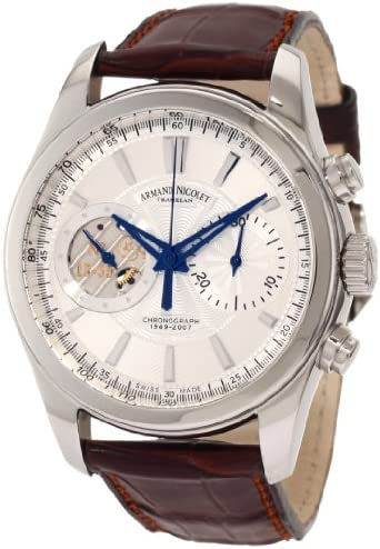 Armand Nicolet Men s 9649A-AG-P964MR2 L07 Limited Edition Hand-Wind Classic Watch