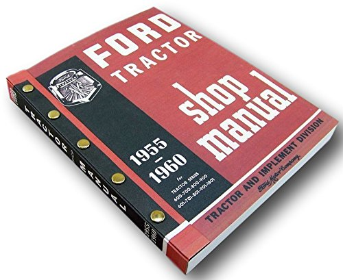 Ford 700 800 900 701 801 901 Tractor Service Repair Shop Manual Gas & - Shop 901