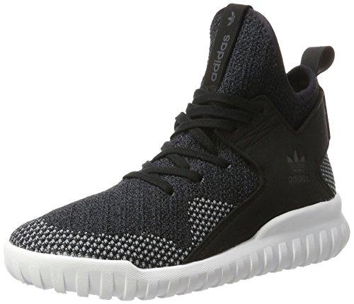 adidas Tubular X Primeknit - Zapatillas Niños Mehrfarbig (Core Black/Dark Grey/Ch Solid Grey)