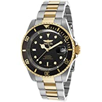 Invicta Men's 8927OB Pro Diver 18k Gold Ion-Plated and Stainless Steel Watch