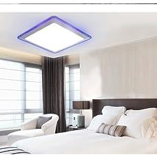 LightInTheBox Flush Mount LED Pendant Lights Chandelier for Flush Mount LED Modern/Contemporary Living Room/Bedroom/Kitchen/Bathroom/Study Room/Office/Kids Room/Garage Metal Voltage=90-240V