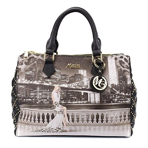 c1fff19928 Borsa Manie Bag bauletto a mano e tracolla removibile VL011 De La Chine